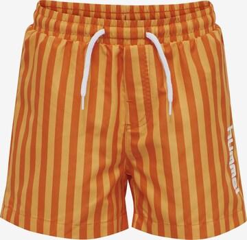 Shorts de bain Hummel en orange