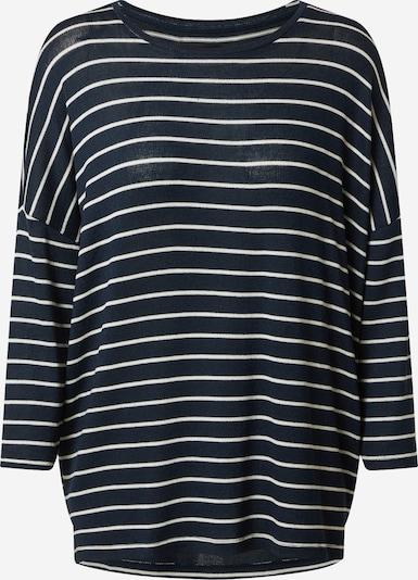 VERO MODA Pullover 'BRIANNA' in navy / weiß, Produktansicht