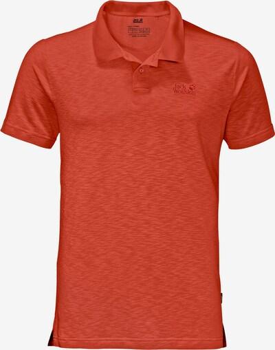 JACK WOLFSKIN Shirt in rot, Produktansicht