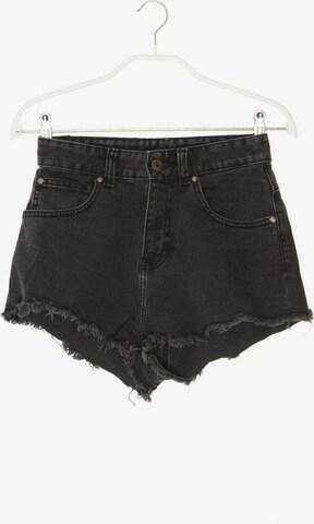 Dr. Denim Jeans-Shorts in 24 in Schwarz
