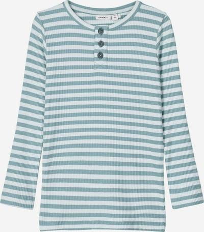 NAME IT Shirt 'NMMTARTU LS XSL TOP' in blau, Produktansicht