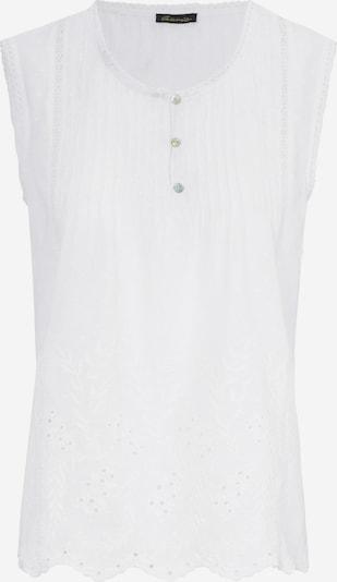 Peter Hahn Blouse in de kleur Wit, Productweergave