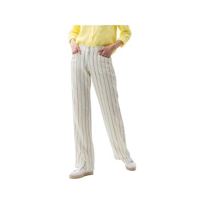 BRAX Stoffhosen in weiß, Modelansicht