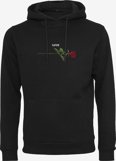 MT Men Sweatshirt in de kleur Zwart, Productweergave