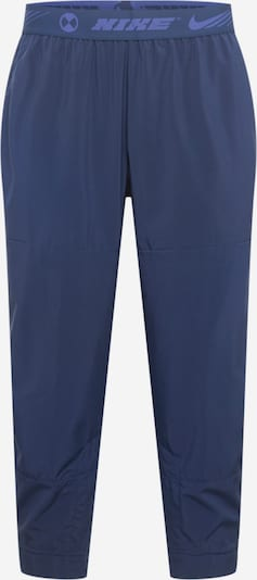 NIKE Sporta bikses kamuflāžas / karaliski zils, Preces skats