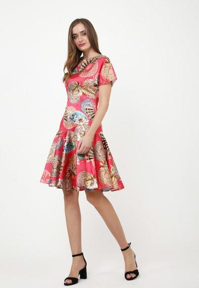 Madam-T Sommerkleid 'SACASA' in pink, Modelansicht