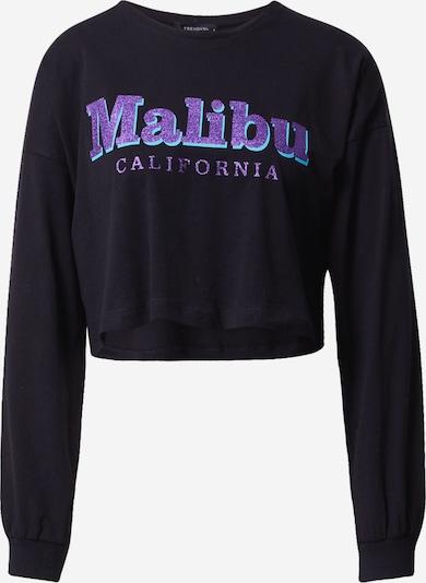 Trendyol Shirt in de kleur Lila / Zwart, Productweergave