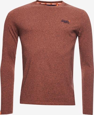 Superdry Shirt in rostbraun: Frontalansicht