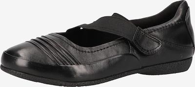Bama Riemchenballerina in schwarz, Produktansicht