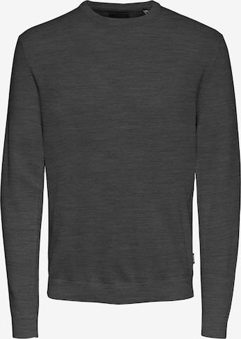 Only & Sons Sweter 'ALEX' w kolorze szary