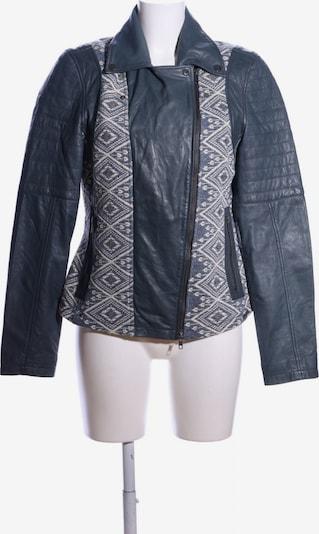 Maze Lederjacke in XL in creme / schwarz, Produktansicht