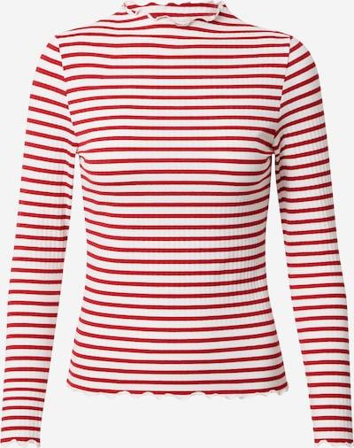 ONLY Shirt 'EMMA' in rot / weiß, Produktansicht