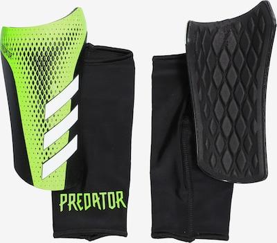 ADIDAS PERFORMANCE Schienbeinschoner in grün / schwarz, Produktansicht