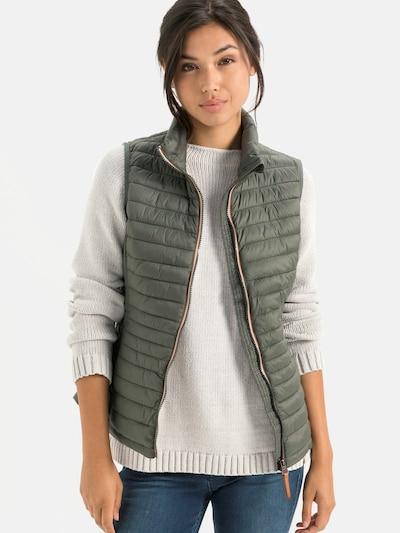 CAMEL ACTIVE Weste in khaki, Modelansicht