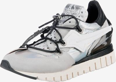 A.S.98 Sneaker 'Denastar' in azur / hellgrau / schwarz / silber, Produktansicht