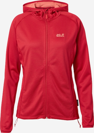 JACK WOLFSKIN Functionele fleece jas 'STAR' in de kleur Rood, Productweergave
