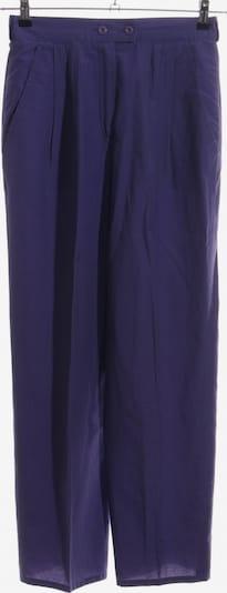 Louis London Collection Bundfaltenhose in L in lila: Frontalansicht