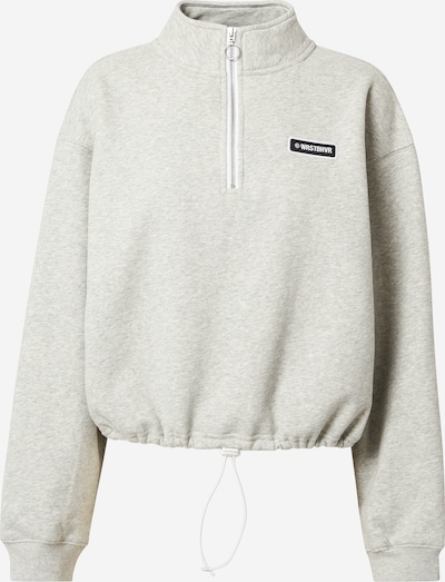 Worst Behavior Sweat-shirt 'Kim' en gris chiné, Vue avec produit