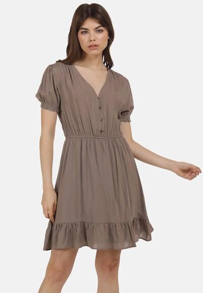 MYMO Kleid in taupe, Modelansicht