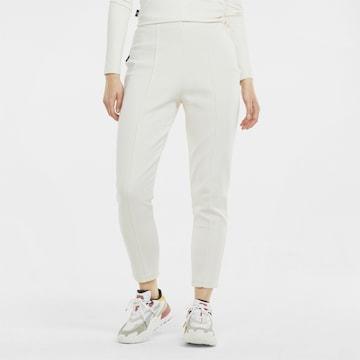 PUMA Sporthose in Weiß
