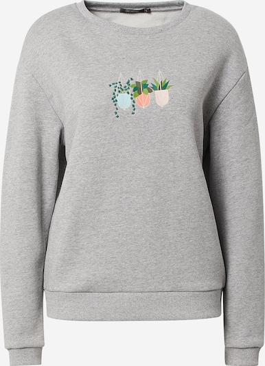 GREENBOMB Sweatshirt in Azure / Grey / Green / Light green / Coral, Item view