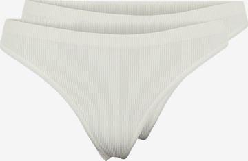 PIECES Stringid, värv valge