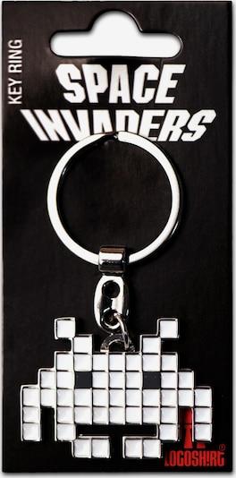LOGOSHIRT Schlüsselanhänger in weiß, Produktansicht