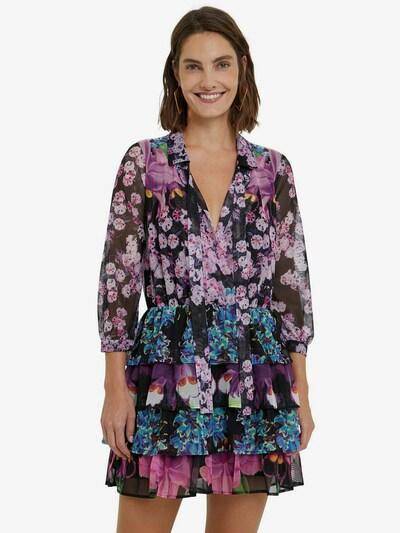 Rochie 'OLIMPIA' Desigual pe turcoaz / galben / lila / negru, Vizualizare model