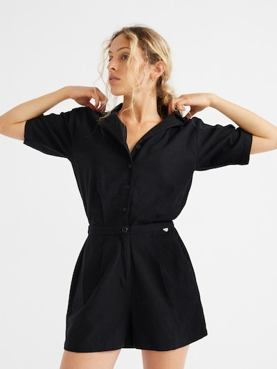 Thinking MU Kleid ' Jade Jumpsuit ' in schwarz, Produktansicht
