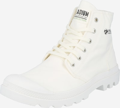 Palladium Lace-up boots 'PAMPA' in black / white, Item view