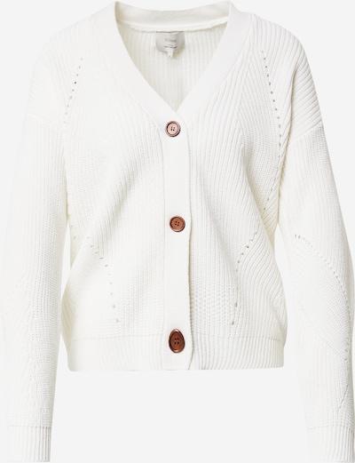 NÜMPH Strickjacke 'NUCIA' in weiß, Produktansicht