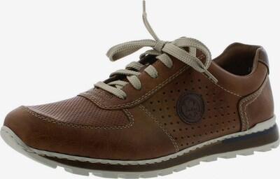 RIEKER Zapatos deportivos con cordones en marrón oscuro, Vista del producto