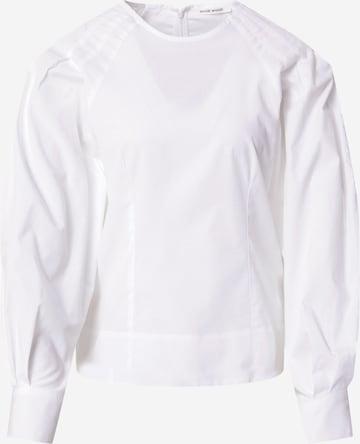 WOOD WOOD Bluse 'Erin' in Weiß