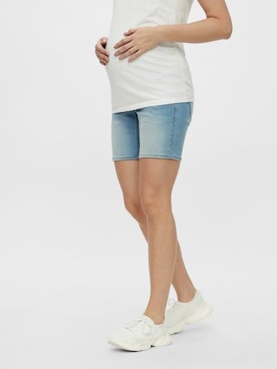 MAMALICIOUS Jeans 'Fifty' in de kleur Lichtblauw, Modelweergave