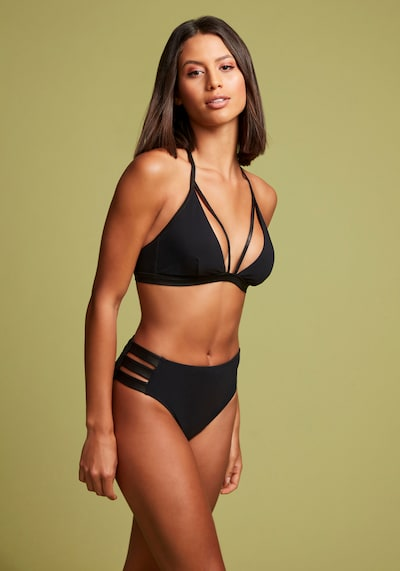 LASCANA Bikini-Hose in schwarz, Modelansicht