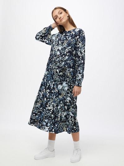 TOM TAILOR Kleid 'flounce' in mischfarben, Modelansicht