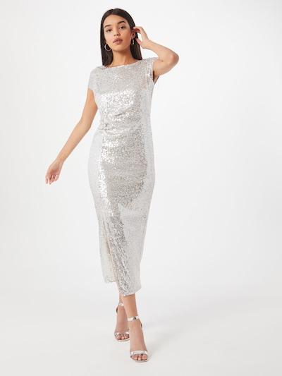 Dorothy Perkins Společenské šaty - stříbrná, Model/ka