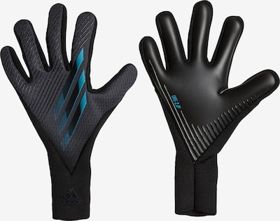 ADIDAS PERFORMANCE Sporthandschuhe 'X 20 Pro' in blau / schwarz, Produktansicht