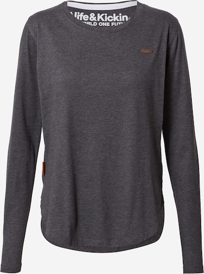 Alife and Kickin Shirt 'Lea' in dunkelgrau, Produktansicht