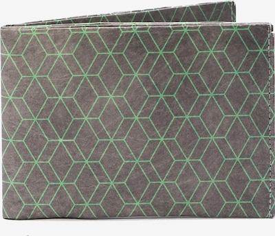 paprcuts Portemonnaie 'Sechsecke' in grau, Produktansicht