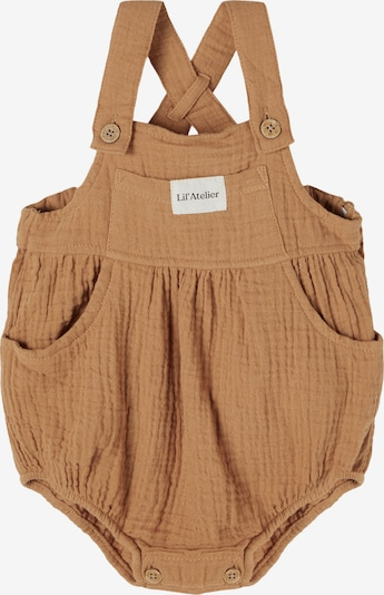 Lil ' Atelier Kids Overall 'Sylvester' in Light brown / White, Item view