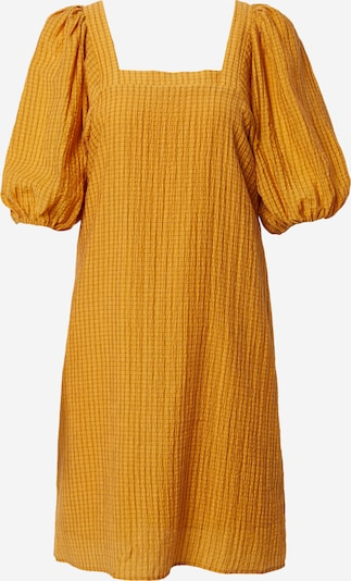 SOAKED IN LUXURY Robe 'Tautou' en jaune d'or, Vue avec produit