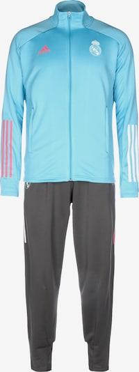 ADIDAS PERFORMANCE Trainingsanzug in blau / schwarz, Produktansicht