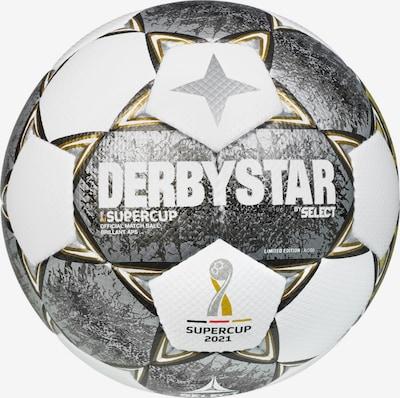 DERBYSTAR Ball in gold / grau / weiß, Produktansicht