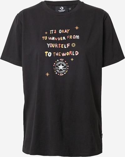 CONVERSE Shirt 'CHUCK WANDER' in mischfarben / schwarz, Produktansicht