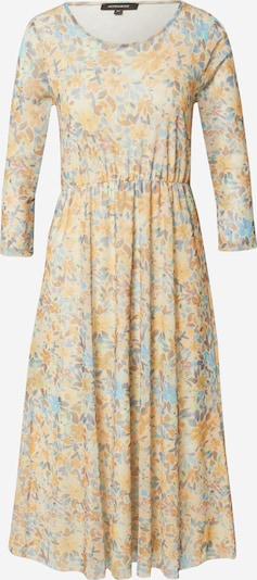 MORE & MORE Kleid in hellblau / hellgrün / hellorange / dunkelorange / puder, Produktansicht