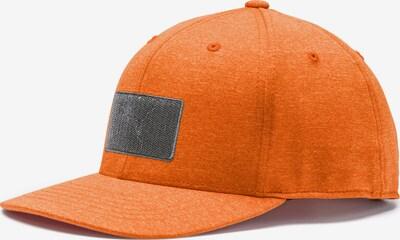 PUMA Sportpet in de kleur Grijs / Sinaasappel, Productweergave