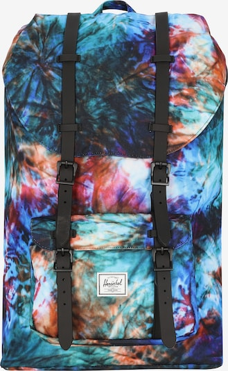 Herschel Ruksak 'Little America' u kraljevsko plava / žad / ljubičasta / narančasta / roza, Pregled proizvoda