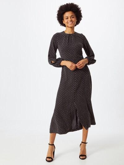 Closet London Šaty 'D6468' - čierna / biela, Model/-ka