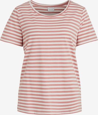 VILA Shirt 'SUS' in altrosa / weiß: Frontalansicht